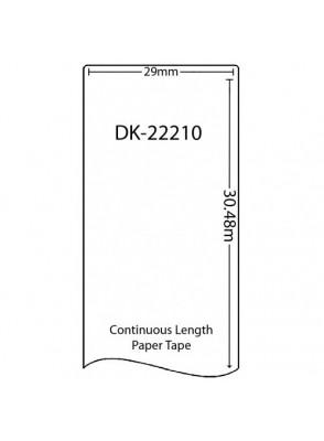 DK-22210 (เนื้อกระดาษ/ขาว)