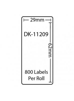 DK-11209 (เนื้อกระดาษ/ขาว)