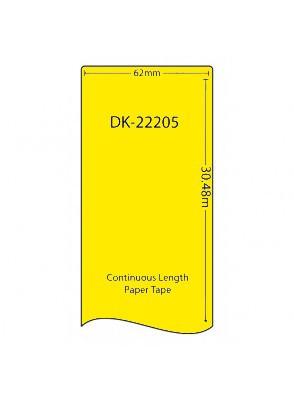 DK-22205 (เนื้อกระดาษ/*เหลือง*)