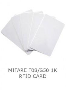 Mifare F08/S50 (1K) RFID Card
