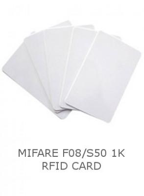 บัตร Mifare F08/S50 (1K) RFID Card