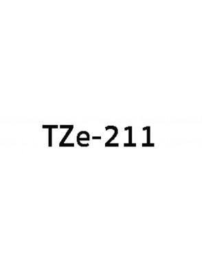 TZe-211 (6มม. x 8เมตร พื้นขาว ตัวอักษรดำ)