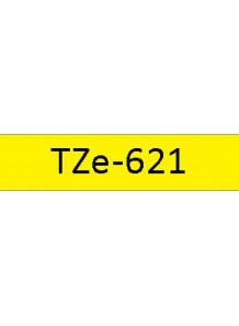 TZe-621 (9มม. x 8เมตร พื้นเหลือง ตัวอักษรดำ)
